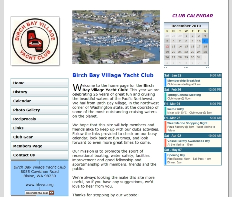Birch Bay Village Yacht Club
